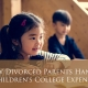 How Divorced Parents Handle Children's College Expenses