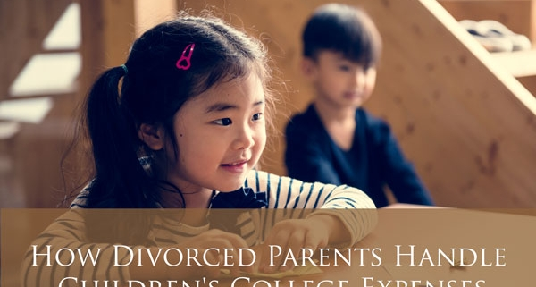 How Divorced Parents Handle Children's College Expenses